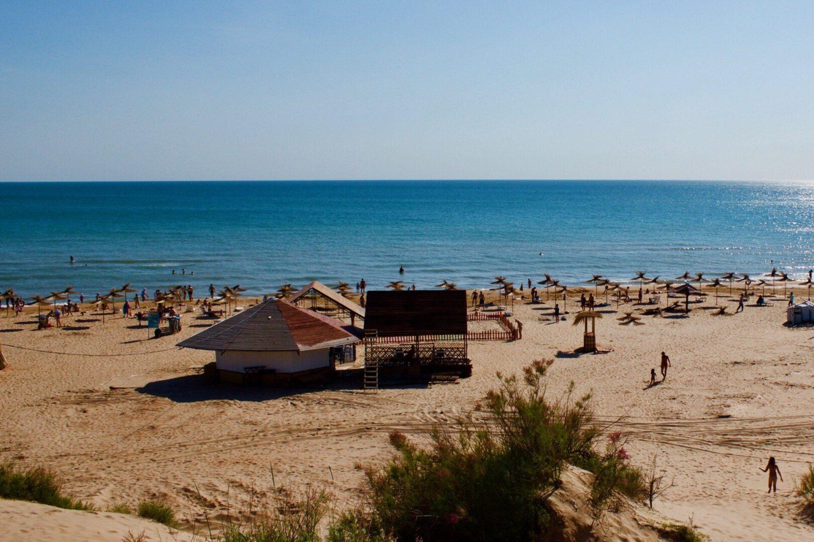 Пляж в районе Джемете