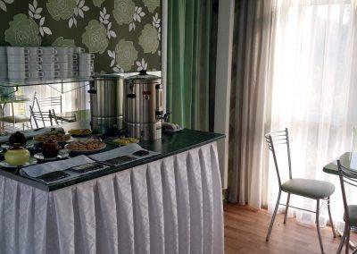 Отель «Радуга». Кафе